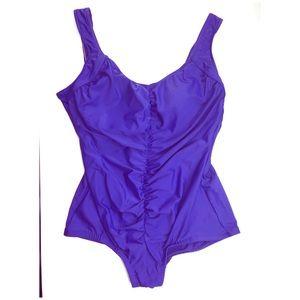 2/$25 Maxine   20W   Purple One Piece Swim